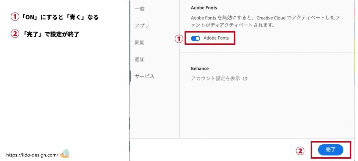 「Adobe Fonts」が有効にする