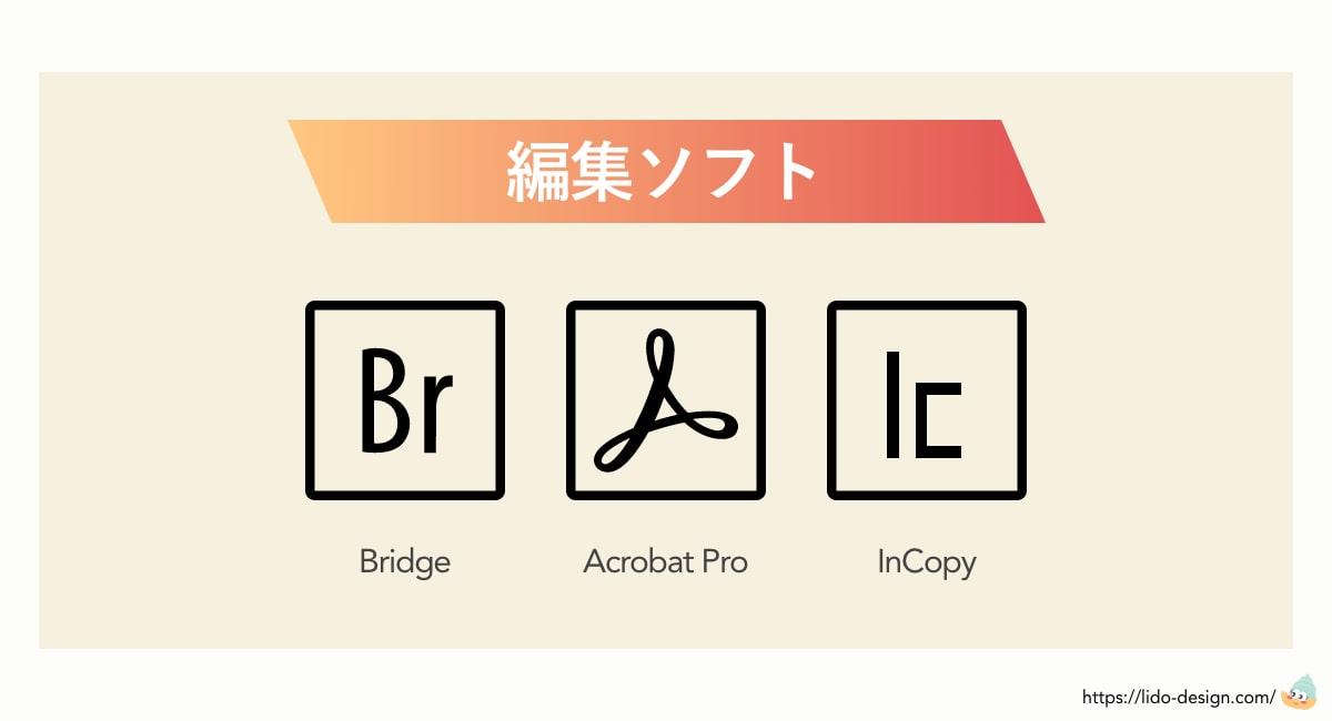 Adobe一覧の編集・管理ツール