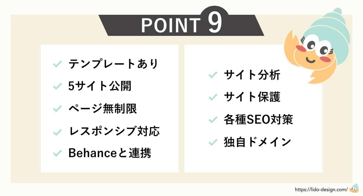 Adobe Portfolioの9つのポイント